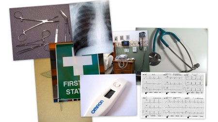 healthcare collage